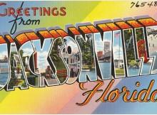 Jacksonville FL postcard