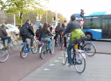rush hour in the netherlands
